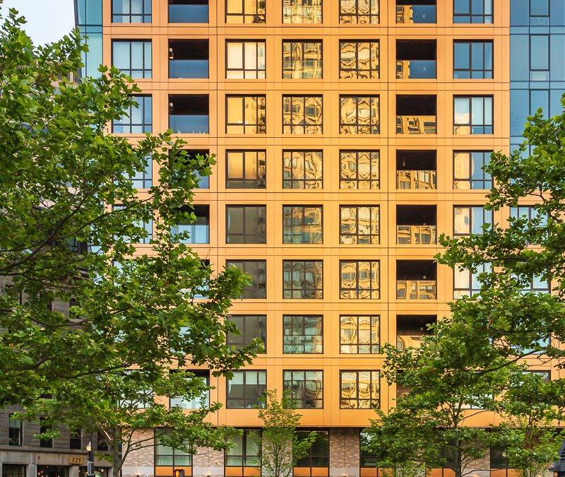 Copper Metallic panels add shimmer to residential project in Boston